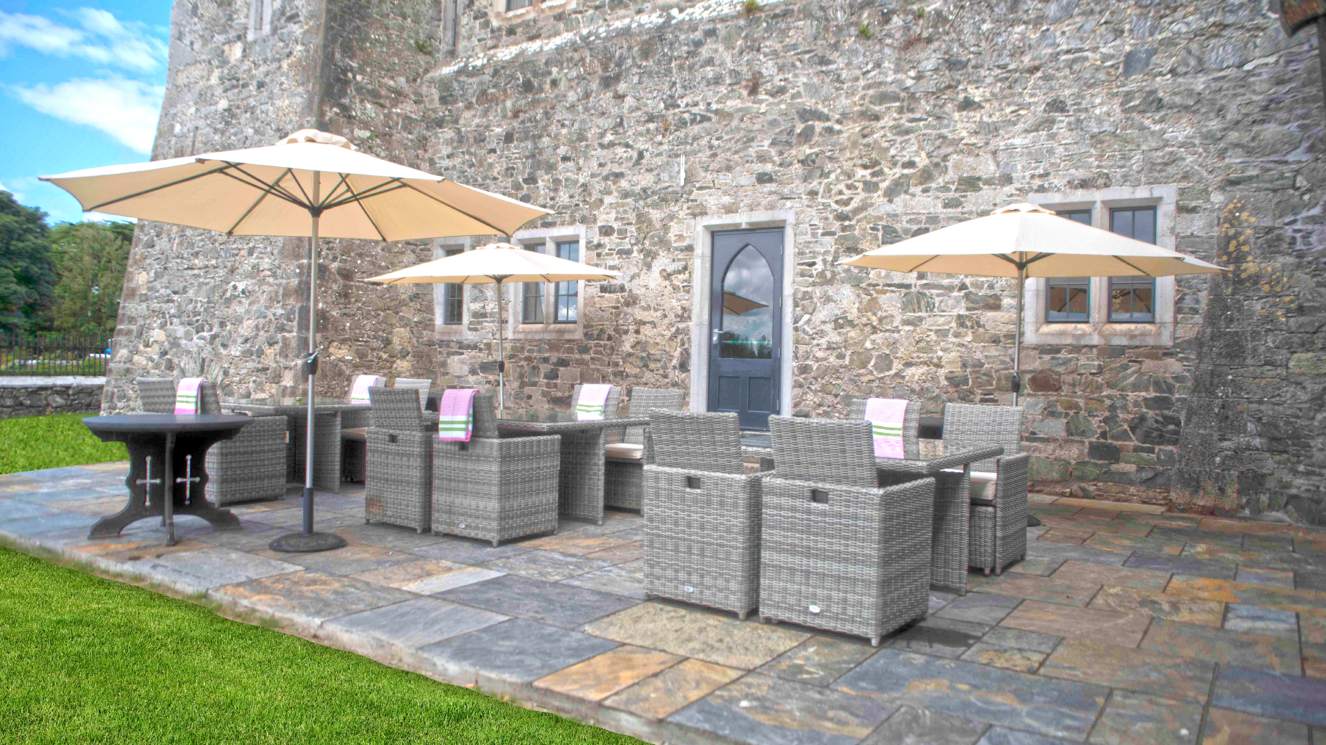 Summer BBQ's at Kilkea Castle